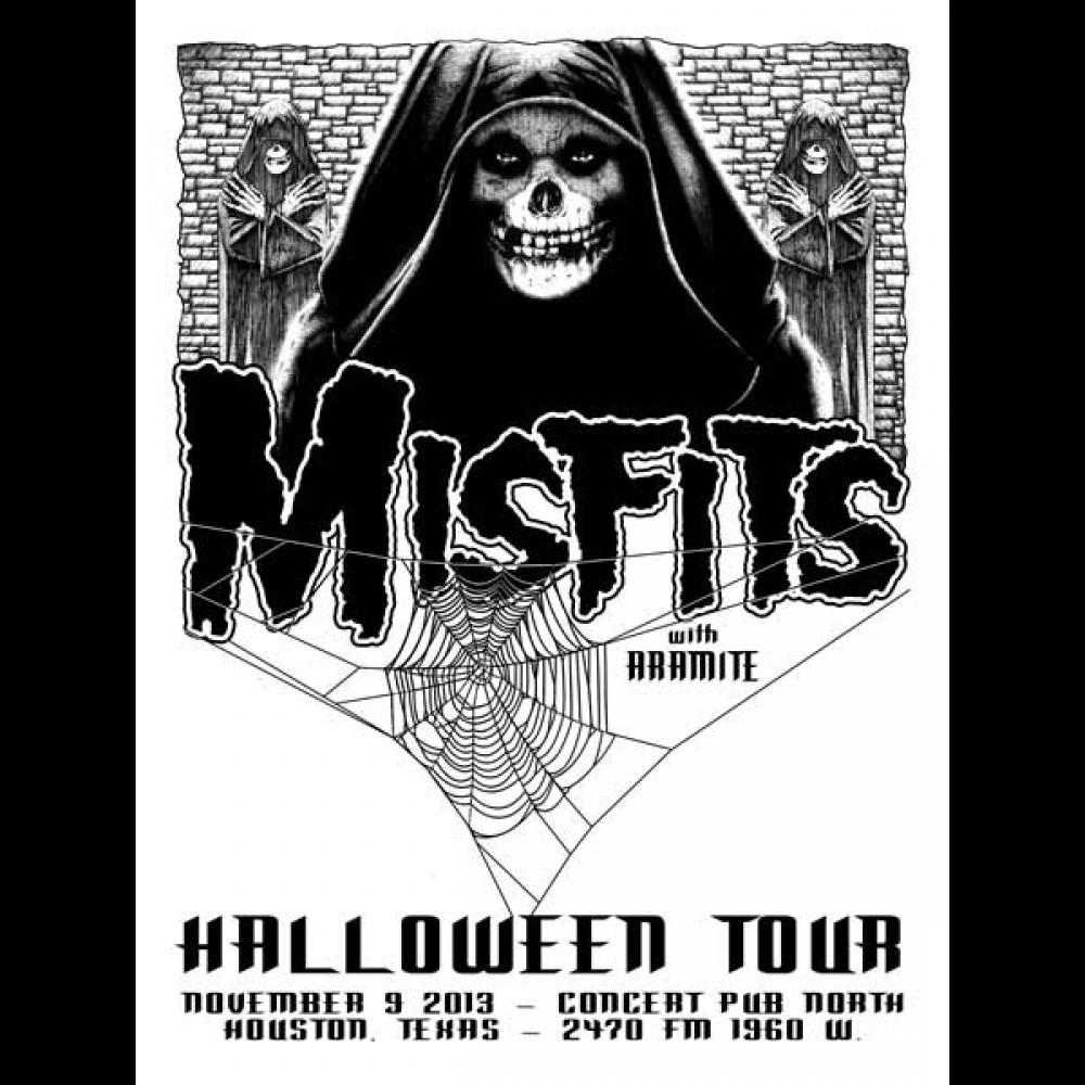 Season of Mist - Misfits - 2013 Halloween Tour - Houston, TX Show ...