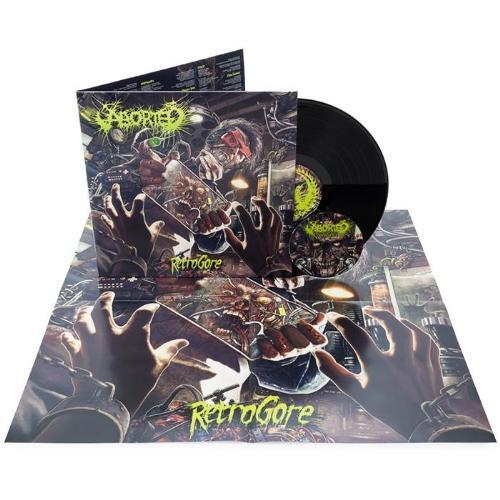 Aborted Retrogore Lp Gatefold Cd Death Metal