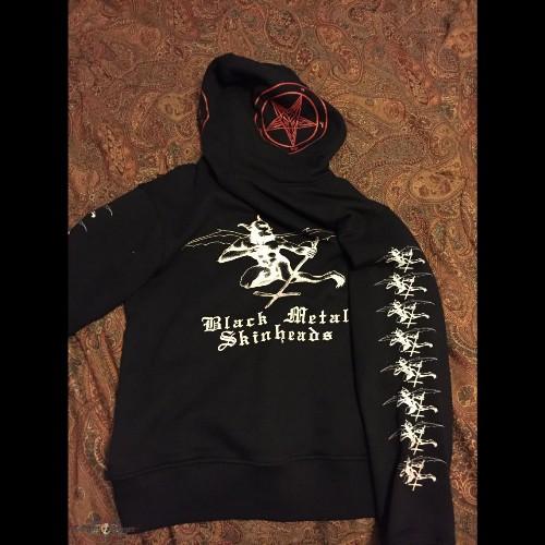 e7c9ad9a9 Blasphemy | Fallen Angel Of Doom... - Hooded Sweat Shirt - Black ...