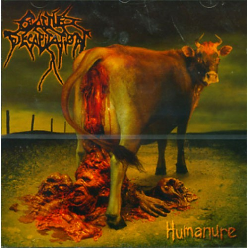 Cattle Decapitation Humanure Lp Gatefold Death Metal