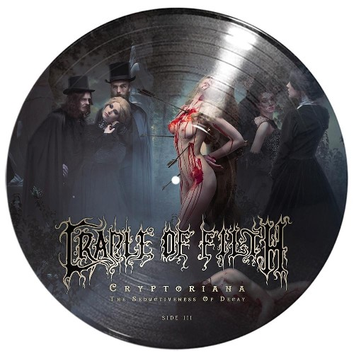 Cradle Of Filth Cryptoriana The Seductiveness Of Decay