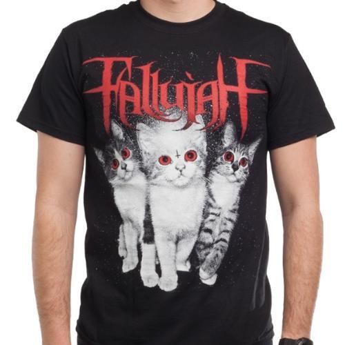 fallujah cats t shirt death metal grind season of mist. Black Bedroom Furniture Sets. Home Design Ideas
