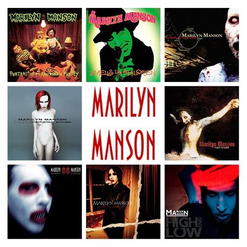 Marilyn Manson Eat Me Drink Me Zip