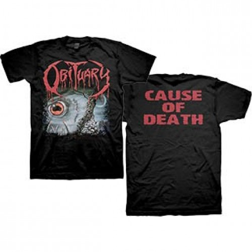 20132d9b8 Obituary - Cause Of Death - T-shirt (Men)