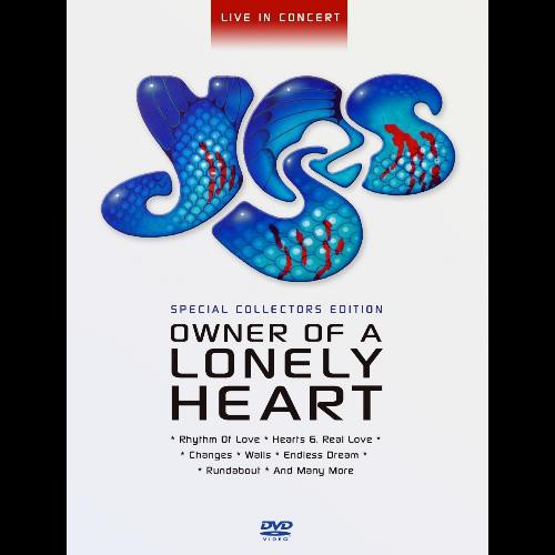 Season Of Mist Yes Owner Of A Lonely Heart Dvd