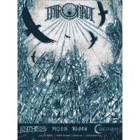 Intronaut / Entheos / Moon Tooth / Oberon - Intronaut At 89th St. Collective, OKC - Screenprint