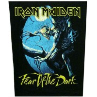 Iron Maiden - Fear Of The Dark - BACKPATCH