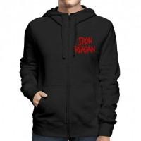 Iron Reagan - Red Logo - Hooded Sweat Shirt Zip (Men)
