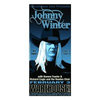 Johnny Winter - Houston - Giclée
