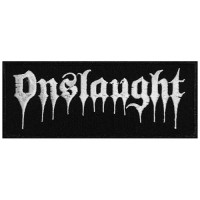 Onslaught - Logo - EMBROIDERED PATCH