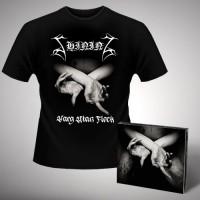 Shining - X - Varg Utan Flock - CD DIGIPAK + T-shirt bundle