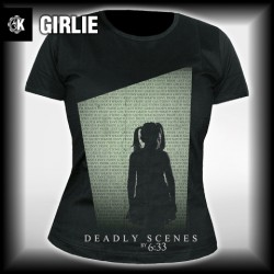 6:33 - Deadly Scenes - T shirt girlie