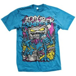 A Day To Remember - Attack Of The Killer B-Sides (Sapphire) - T-shirt (Men)