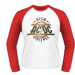 AC/DC - High Voltage - BASEBALL LONGSLEEVE (Men)