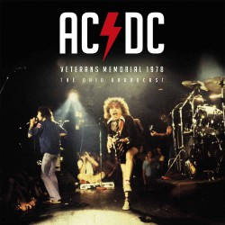 AC/DC - Veterans Memorial 1978 - LP Gatefold Coloured