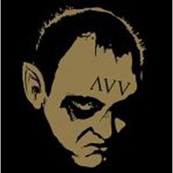 """AVV - Roses Never Fade - Split - 7"""" vinyl coloured"""