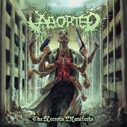 Aborted - The Necrotic Manifesto - CD