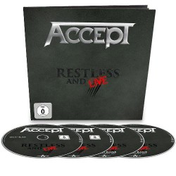 Accept - Restless & Live - 2CD / DVD / BLU-RAY EARBOOK