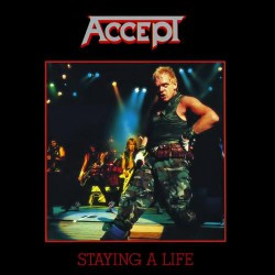 Accept - Staying A Life - DOUBLE CD