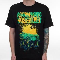 Agoraphobic Nosebleed - Burning Coffin - T-shirt (Men)