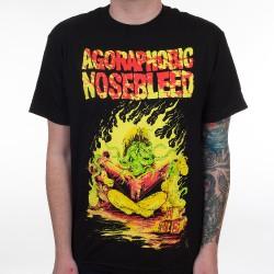 Agoraphobic Nosebleed - Octo Book - T-shirt (Men)