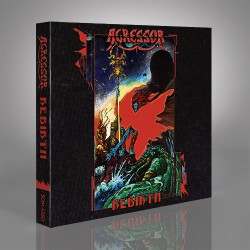 Agressor - Rebirth - 2CD DIGIPAK + Digital