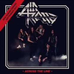 Air Raid - Across The Line - CD