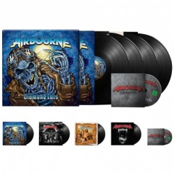Airbourne - Diamond Cuts - 4LP + DVD