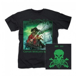 Alestorm - Captain Morgan's Revenge - 10th Anniversary Edition - T-shirt (Men)