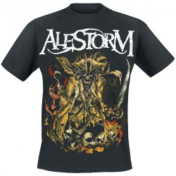 Alestorm - We Are Here To Drink Your Beer! - T-shirt (Men)