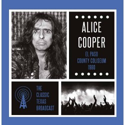 Alice Cooper - El Paso County Coliseum 1980 - DOUBLE LP Gatefold