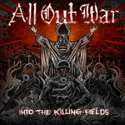 All Out War - Into the Killing Fields - LP COLOURED