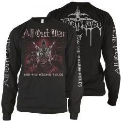 All Out War - Into the Killing Fields - LONG SLEEVE (Men)