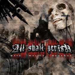 All Shall Perish - Hate.Malice.Revenge - CD DIGIPAK