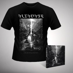 Altarage - Endinghent - CD DIGIPAK + T-shirt bundle