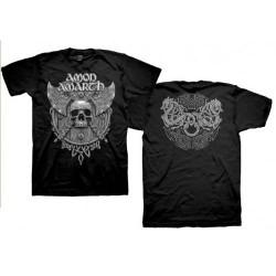 Amon Amarth - Grey Skull - T-shirt (Men)