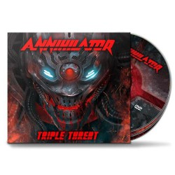 Annihilator - Triple Threat [deluxe] - 2CD + DVD digipak
