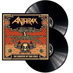 Anthrax - The Greater Of Two Evils - DOUBLE LP Gatefold