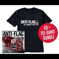 Anti-Flag - The General Strike LTD Edition - CD DIGIPAK + T-shirt bundle