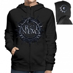 Arch Enemy - Skull Bat - Hooded Sweat Shirt Zip (Men)