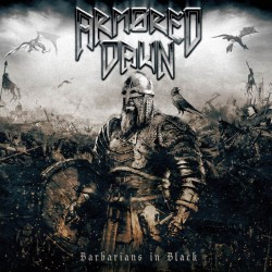 Armored Dawn - Barbarians In Black - LP Gatefold Coloured