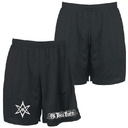 As They Burn - Logo - Gym Shorts (Men)