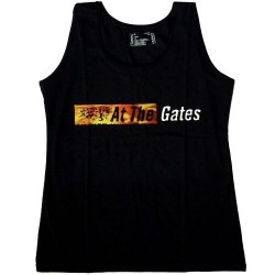 At The Gates - Logo - T Shirt Girly Tank Top