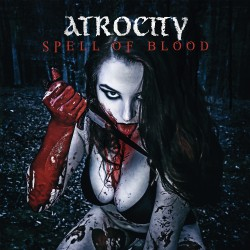 "Atrocity - Spell Of Blood / Blue Blood - 7"" vinyl coloured"