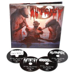 Autopsy - After The Cutting - 4CD ARTBOOK
