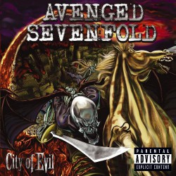 Avenged Sevenfold - City Of Evil - DOUBLE LP Gatefold