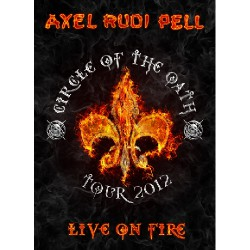 Axel Rudi Pell - Live on Fire - 2DVD DIGIPAK