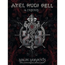 Axel Rudi Pell - Magic Moments -25th Anniversary Special Show - 3DVD BOX SET
