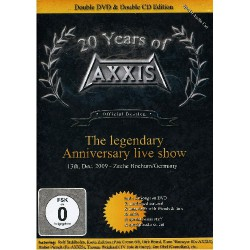"Axxis - 20 Years Of Axxis ""the Legendary Anniversary Live Show"" - DOUBLE DVD + DCD"