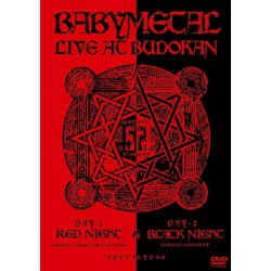 Babymetal - Live at Budokan - DOUBLE DVD